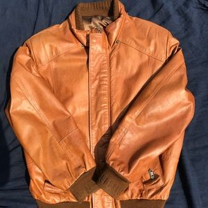 Other - Beautiful men's leather jacket size M